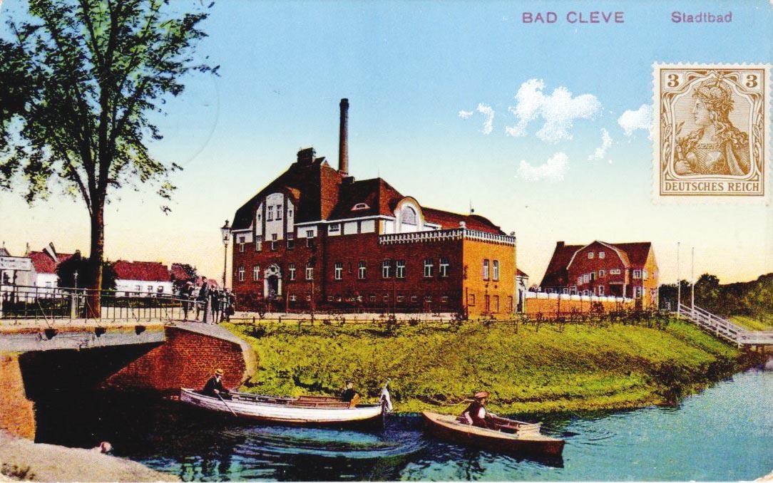 Vor 100 Jahren am Kermisdahl – das ehrwürdige erste Stadtbad in Cleve